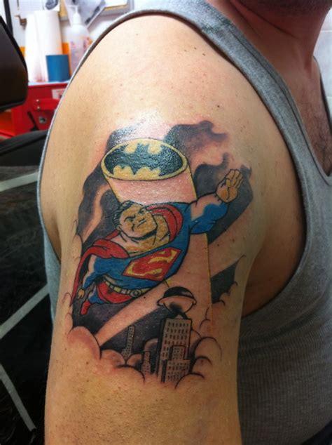 awesome superman tattoo designs  ideas