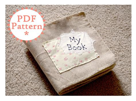 quiet book pattern pdf quiet book printable pdf pattern with instructions instant