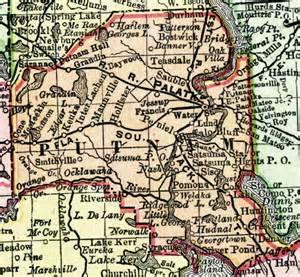 map of putnam county florida 1898