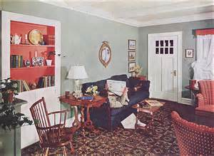 vintage american home 1940s living rooms a gallery on flickr