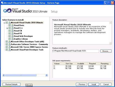 Software Vs Vb 2010 Ultimate microsoft visual studio 2010 ultimate free and software reviews cnet