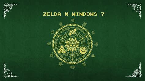 theme windows 7 zelda legend of zelda windows 7 theme pack hauruple