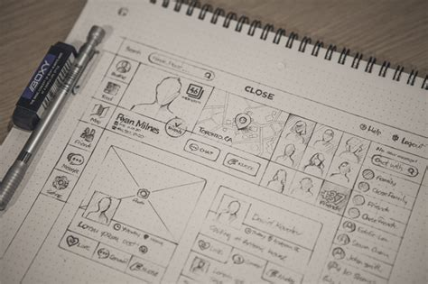 layout web sketch 23 beautiful wireframe sketches for web designers