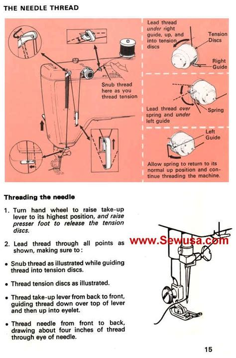 singer the complete photo guide to sewing 3rd edition books singer 518 sewing machine threading diagram