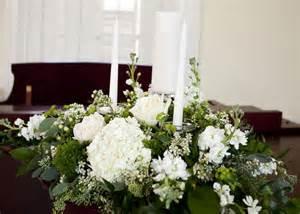 flower arrangements with candles unity candle arrangement