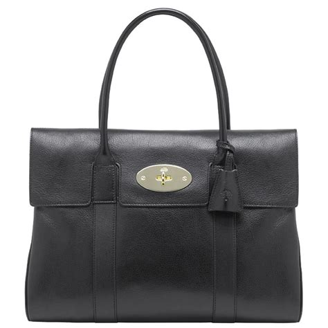 Tribute To A Timeless Classic Mulberrys Leather Bayswater Bag by Mulberry Bayswater In Black Lyst