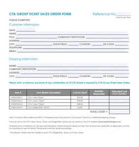sales order template sales order template 11 free sles exles