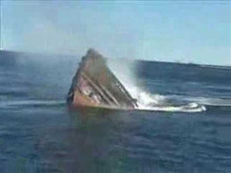 boat sinking statistics sinking tug boat youtube