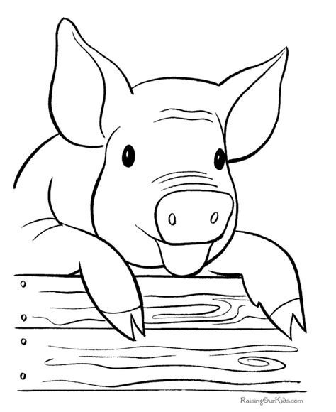 farm pig coloring page pig zombie coloring pages to print coloring pages