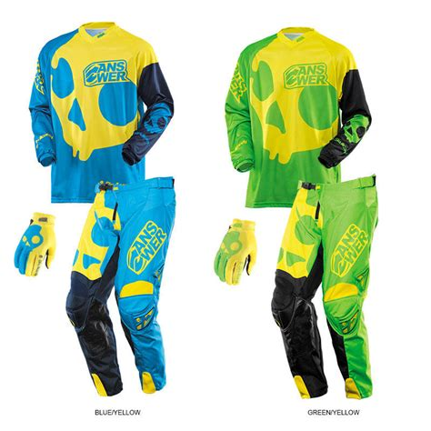 skullcandy motocross gear answer 2014 skullcandy jersey pant gear combo youth