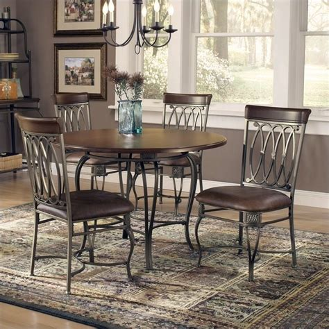 hillsdale montello 5 dining table set