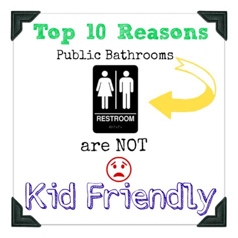 quot top 10 kid reasons quot birthday printable card blue top 10 reasons a public restroom is not kid friendly