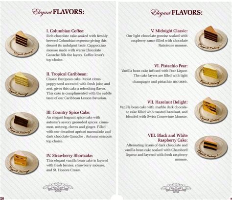 Wedding Cake Flavours 2017 by Wedding Cake Flavors And Fillings List Idea In 2017