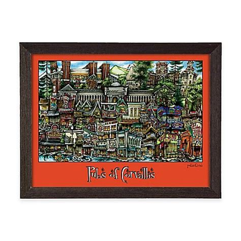 bed bath and beyond corvallis buy pubs of corvallis framed wall art from bed bath beyond