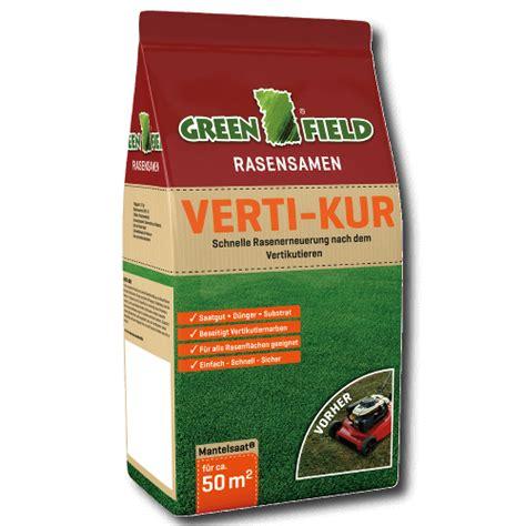 Gräser Für Garten 206 by Greenfield Verti Kur Rasenerneuerung Rasensamen