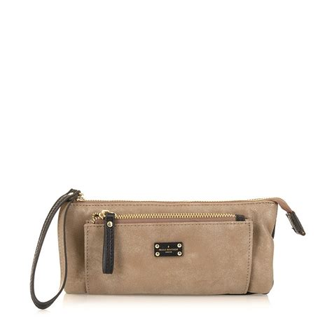 Tas Paul By clutch tas paul s boutique slouchy taupe
