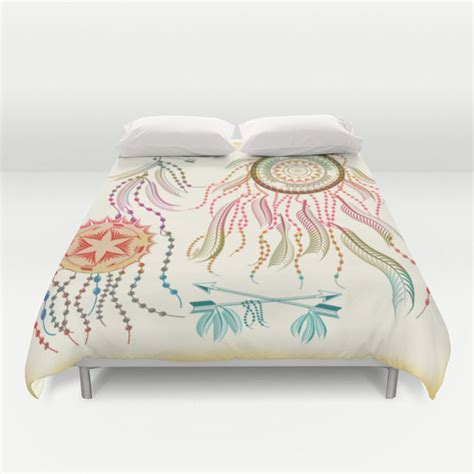 dreamcatcher bedding duvet cover decorative dream catcher boho bedding home by