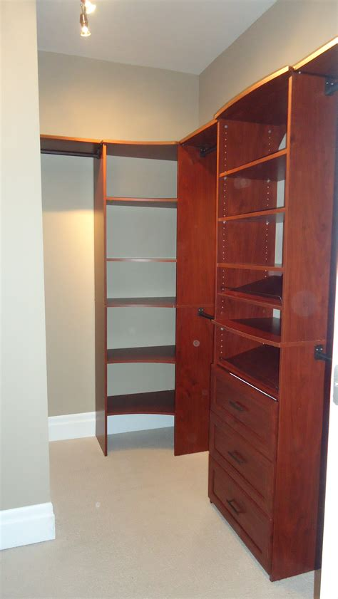 building a walk in closet in a small bedroom building a custom walk in closet small space style
