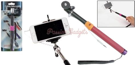Tongsis Cable Take Pole 9cm x 6cm velvet pouch for mobile lens remote shutter