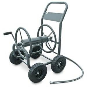 Garden Hose Cart Liberty Garden 4 Wheel Hose Cart 840 The Home Depot