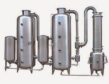Alat Evaporator ketikan sebuah perjalanan aplikasi proses evaporasi pada beberapa alat pengolahan