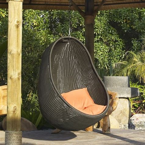 hanging outdoor chair hanging basket chair contemporary hammocks and swing