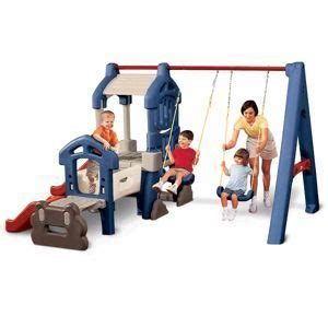 little tikes step 2 swing and slide endless adventures 174 variety climber and swing set