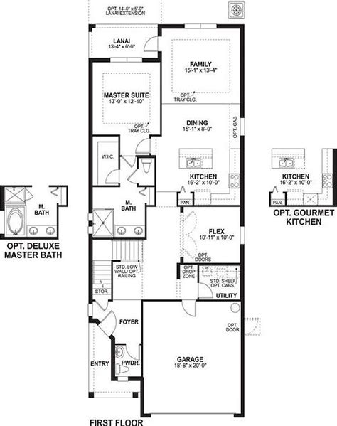 long ranch house plans willow long lake ranch by m i homes zillow