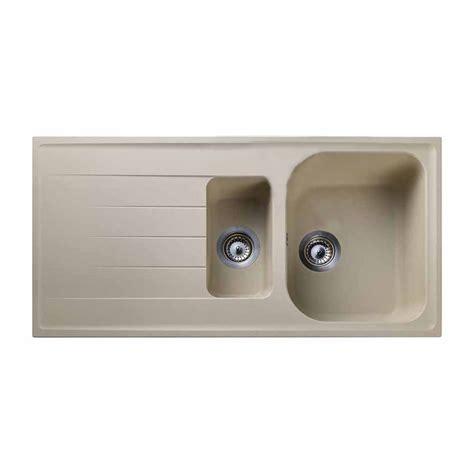 1 5 bowl kitchen sink rangemaster amethyst 1 5 bowl granite kitchen sink