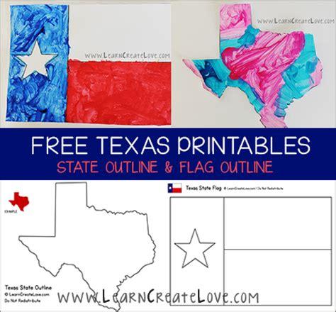 kindergarten themes texas texas printables flag state outline