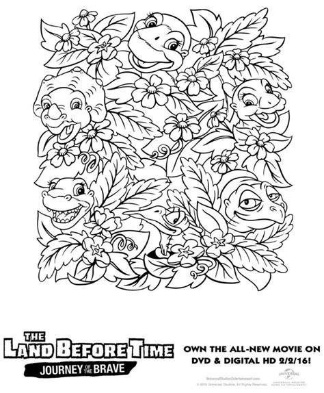 Free Printable Land Before Time Coloring Page Mama Likes Before Coloring Pages