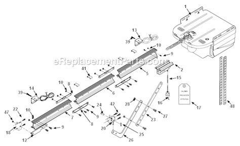Genie Garage Door Parts Diagram