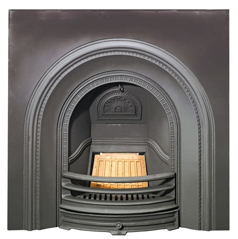 Stovax Decorative Arched Insert   Victorian Fireplace Store