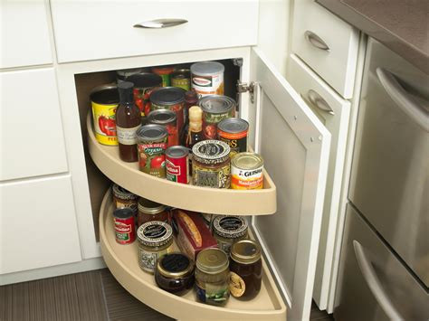 lazy susan organizer ideas lazy susan cabinets pictures options tips ideas hgtv