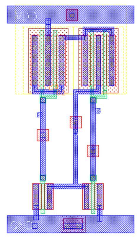nand layout vlsi fig 3 3 input nand layout