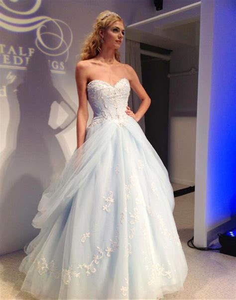Leichte Hochzeitskleider by Popular Light Blue Wedding Gown Buy Cheap Light Blue