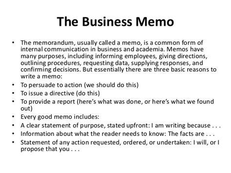 Memo Writing Steps Memo Writing