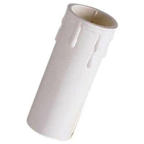 a candela portalada effetto candela con goccia e14 bianco o avorio