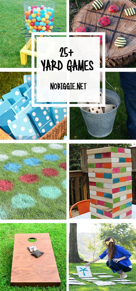 games to play in the backyard 25 diy yard games