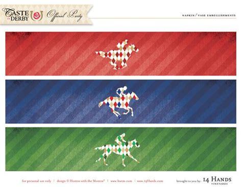 Free Kentucky Derby Printables