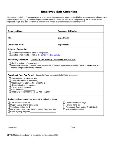 free employee exit template best photos of employee exit form for leaving employee