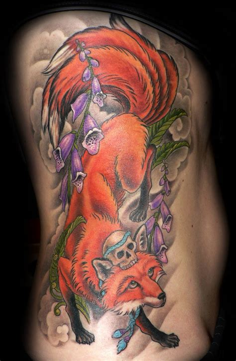 kitsune tattoo kitsune archives to the needle