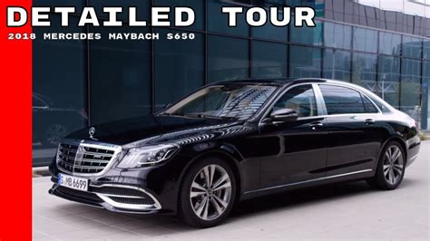 mercedes maybach interior 2018 2018 mercedes maybach s650 exterior interior detailed