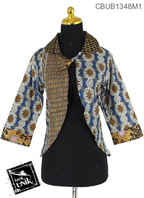 Promo Cintia Tenun Dress Murah baju batik terbaru bolero motif songket baris
