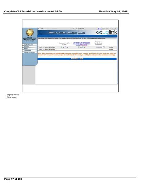 Css Tutorial Complete | complete css tutorial text version rev 04 04 09