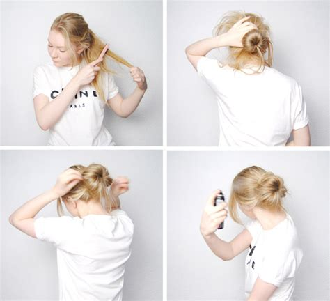 how to make a messy bun from short hair ehow 10 stunning messy updo hairstyles for short hair
