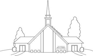Lds Church Coloring Pages lds jesus coloring pages clipart best