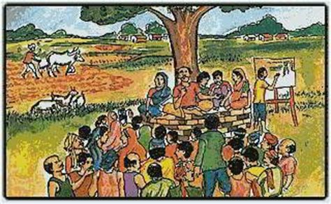 themes of god lives in the panch ncert notes panchayati raj tet success key