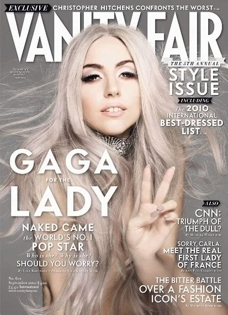 Gaga Vanity Fair 2010 by Cele Bitchy Gaga If I Sleep With Someone They Ll