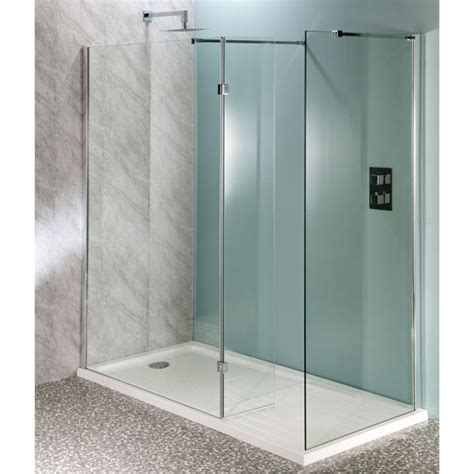 Clean Glass Shower Screen by Aquatech 10mm Room Panels